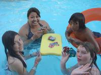 Uno in the pool???