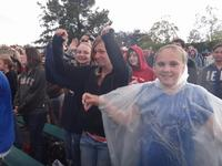 Rockin in the rain to Family Force 5
