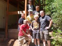The guys at the cabin