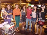 Our graduating seniors in disguise for Mall Hunt