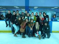Ice Skating with the High School group