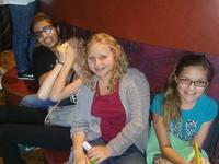 The girls at Laser Quest