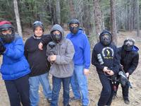 Paintball at Sugar Pine