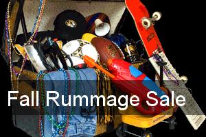 Fall Rummage Sale