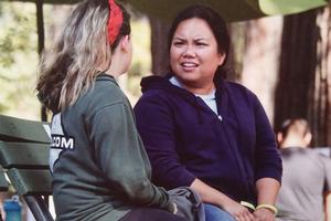 Melanie Baggao Inspires California Campers