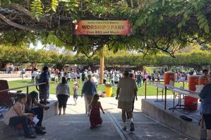 Worship in the Park - Thank You!