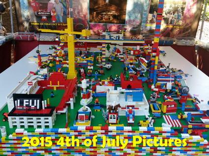 4th of July Lego Table | Santa Clara First Baptist Church