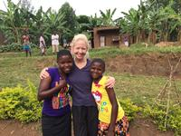 Daena on a medical mission trip in Africa