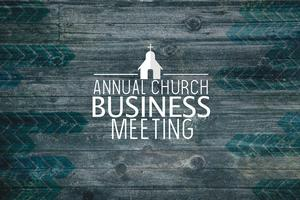 Annual Business Meeting - November  22,  12P.M.