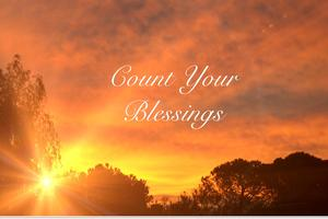 Count Your Blessings: November Series