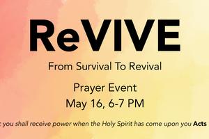 REVIVE: PRAYING FOR REVIVAL