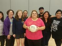 One of our volleyball teams